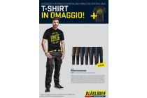 Pantaloni service con stretch + t-shrit IN OMAGGIO