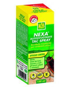 Bomboletta insetticida autosvuotante 150 ml