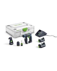 Trapano avvitatore a batteria CXS 2,6-Set