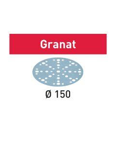 Disco abrasivo STF D150/48 P150 GR/100 Granat