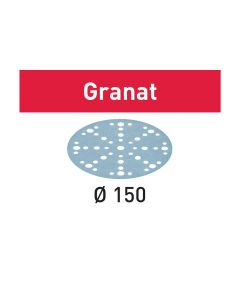 Disco abrasivo STF D150/48 P120 GR/10 Granat