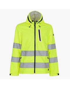 GIACCA SOFTSHELL HV ISO 20471:2013 3RD CAT.