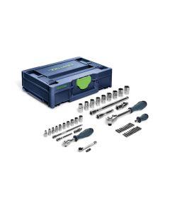 Set di utensili a cricchetto SYS3 M 112 RA
