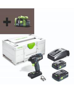 Trapano avvitatore a batteria TID 18 HPC 4,0 I-Plus
