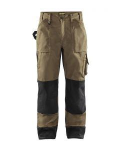 Pantaloni artigianato senza tasche flottanti