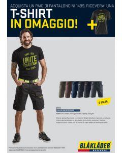 Pantaloncini service + t-shirt IN OMAGGIO