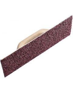 Raschiatore per intonaco con tela abrasiva